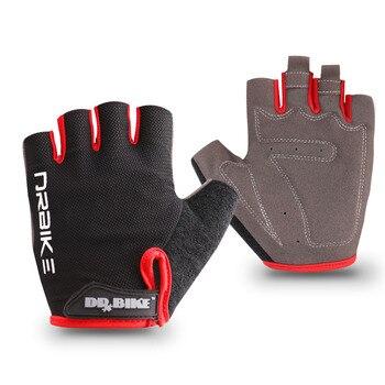 Luvas para ciclismo sem dedos, luvas com absorção de suor para homens e mulheres, acessórios de esportes ao ar livre 1
