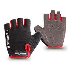 Guantes de Ciclismo de medio dedo con diseño absorbente de sudor para hombres y mujeres, accesorios deportivos al aire libre para montar en bicicleta