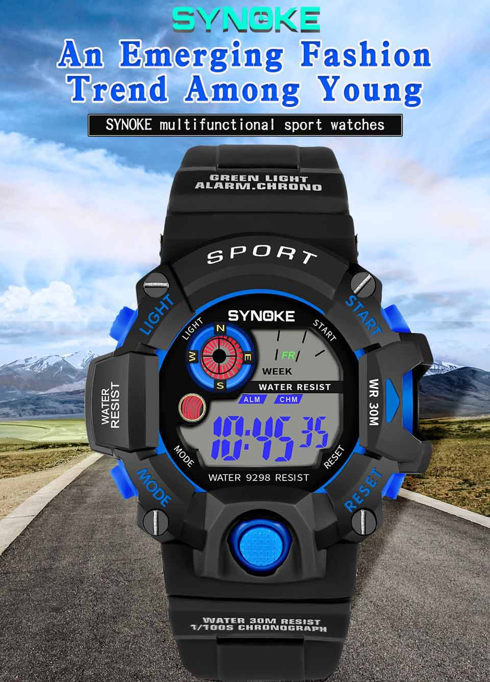 Relogio Masculino Sport Watches Digital Wristwatch For Men and Mens Watches Top Brand Luxury Relogio Digital Relojes