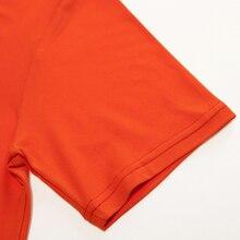 pure color T-shirt Men Short Sleeve Tops SF