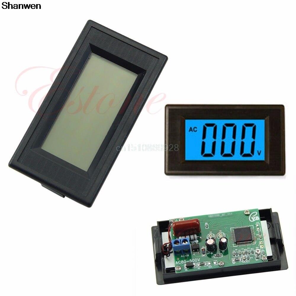 digital blue lcd circuit volt panel meter voltmeter. Black Bedroom Furniture Sets. Home Design Ideas