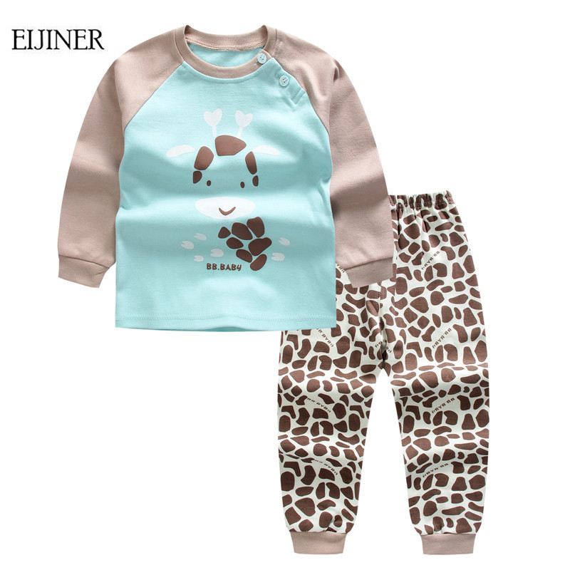 Baby Boy Clothing Set Summer 2016 New Baby Boy Clothing Set Cotton Girls Clothing Cartoon Newborn Baby Clothes tshirt+short Pant clearance 2pcs set baby boy clothes cartoon pattern baby clothing sets summer black white top pant for newborns bebk giyim