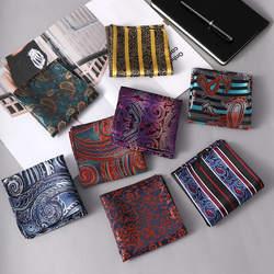 Hanky Man Пейсли квадратный платок с цветами мужской шелковый платок для бизнеса Свадебная вечеринка Карманный квадратный костюм аксессуары