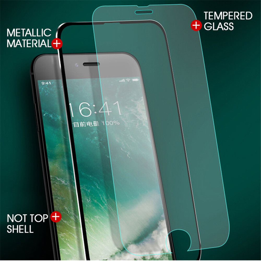 GULYNN For iphone X 10 Glass 3D Full Cover Tempered Glass On iphone 7 8 Plus 6s 5 5s Se Screen Protector Protective Glass Film in Phone Screen Protectors from Cellphones Telecommunications