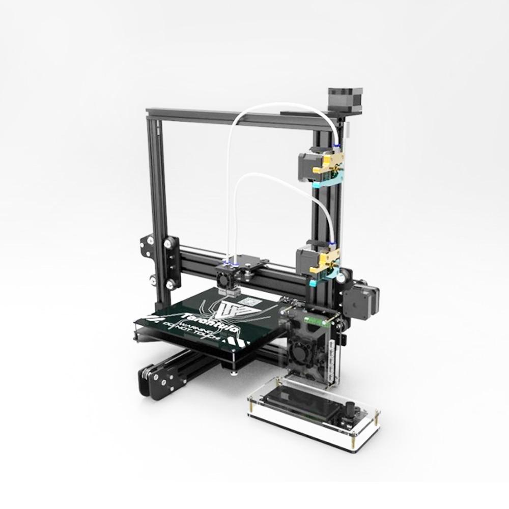 Large Area MK3 Dual Extruder Tarantula I3 Aluminium Extrusion 3D Printer kit printer 3d 2 Rolls Filament 8GB SD card LCD As Gift