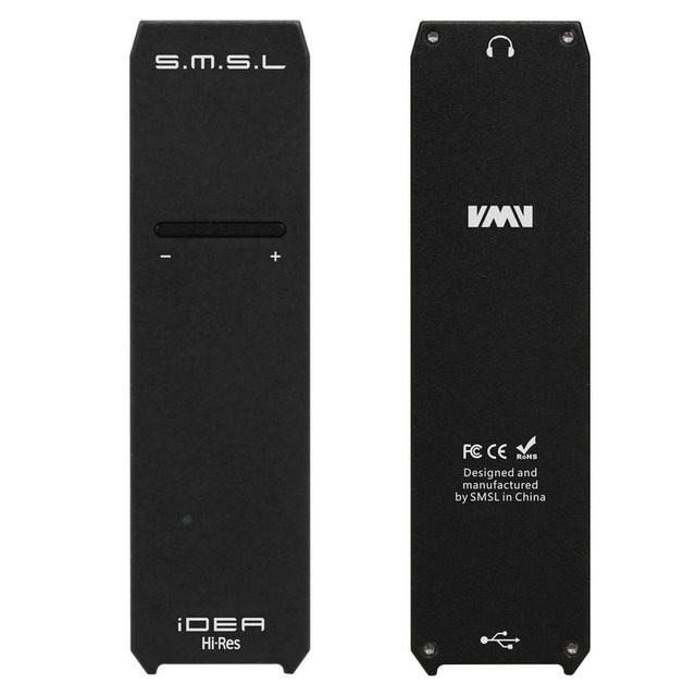 SMSL iDEA Mini Hi-fi Audio Portable USB DAC SABRE9018Q2C Portable USB DSD512 32bit/768kHz DAC and Audio Headphone Amplifier
