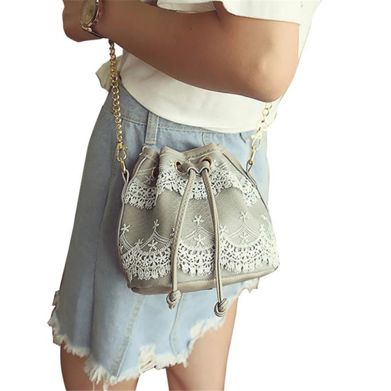 ᗚModa estilo Bolsas uniqe diseño Encaje bolso Bolsos de hombro Tote ...