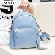 ВСТАВИТЬ Известный Бренд Природный Натуральная кожа женщины рюкзак Красивый отдых мягкие кожаные женщин сумка Многофункциональные рюкзаки