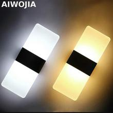 Loft Led Bathroom Light Style Wall Warm white LED Lamp Applique Murale Luminaire