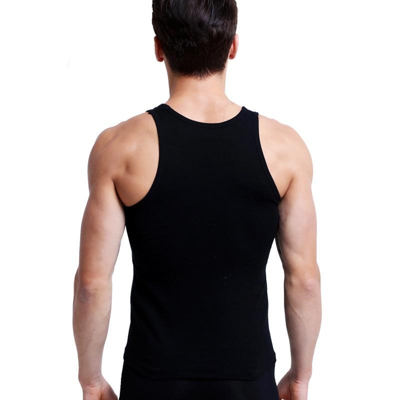 Men's Undershirt Bottoming Shirt 3 Pcs Cotton Men Casual Top Shirt Soft Breathable Slim Male Undershirt Underwear For men