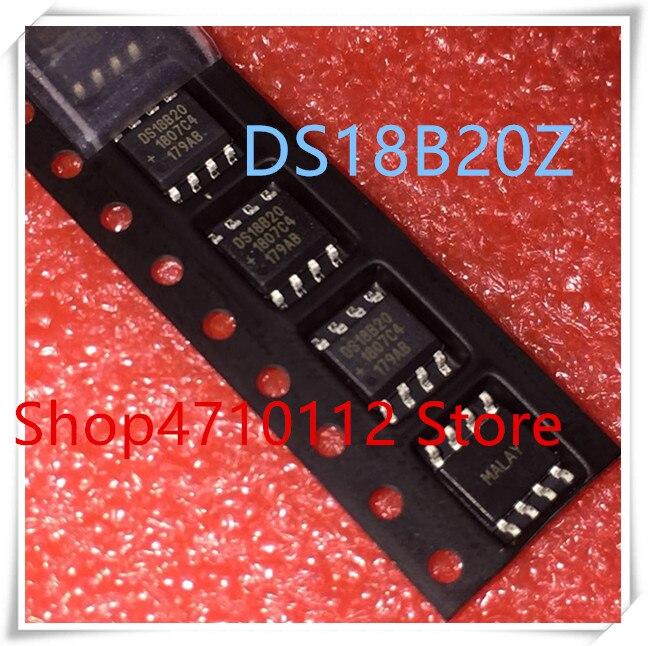 NEW 10PCS LOT DS18B20 DS18B20Z 18B20 SOP 8 IC