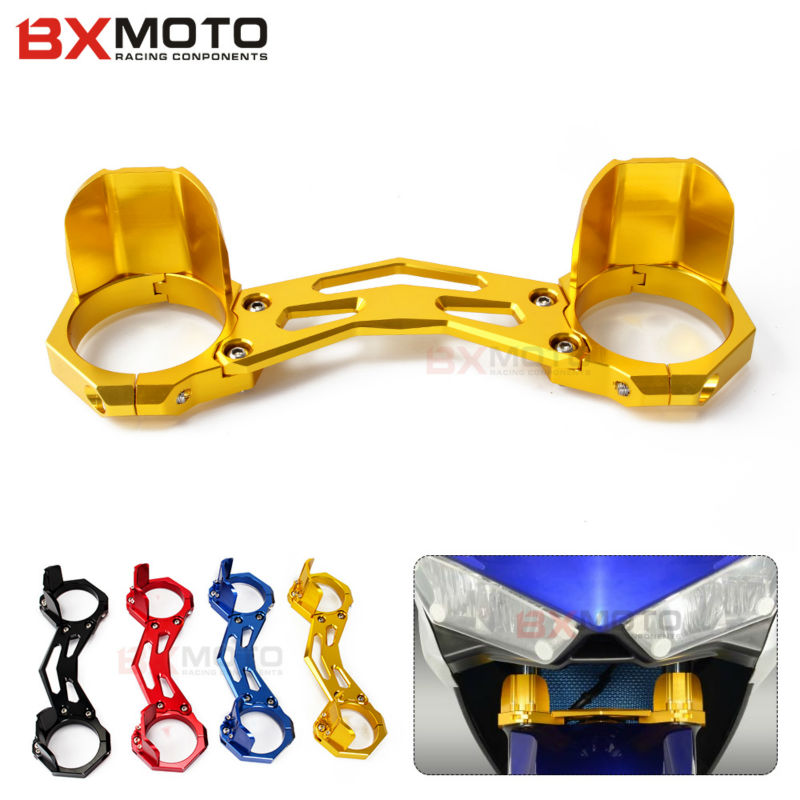 2016 New Arrival Accessories For Motorcycles Balance Shock Front Fork Brace Clamp For Yamaha Yzf R3 Yzf R25 Motorbike Parts motorcycle front shock fork brace balance device clamp bracket wheel damper for honda cb400 92 98 nsr250 p3 cb250