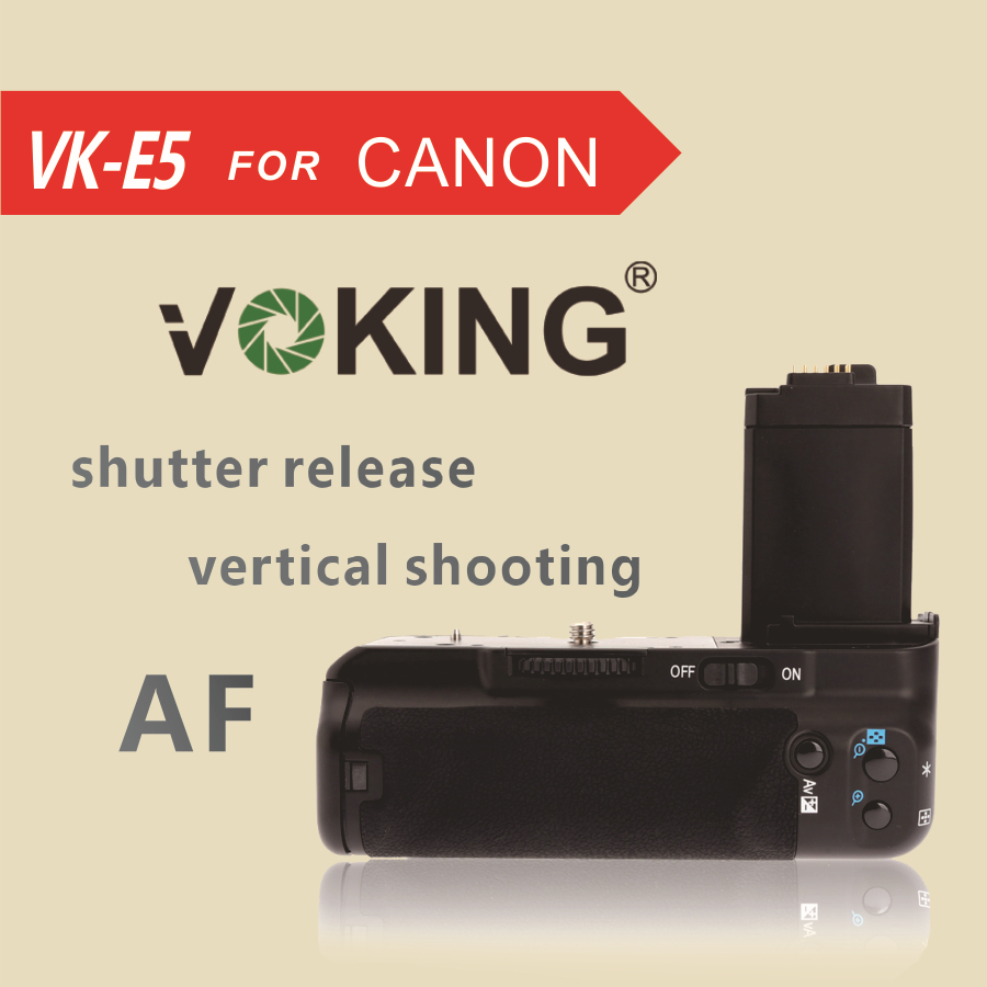 Utile Voking Vk E5 Battery Grip Pack For Canon 450d 500d 1000d Xsi T1i Xs I Prodotti Sono Venduti Senza Limitazioni