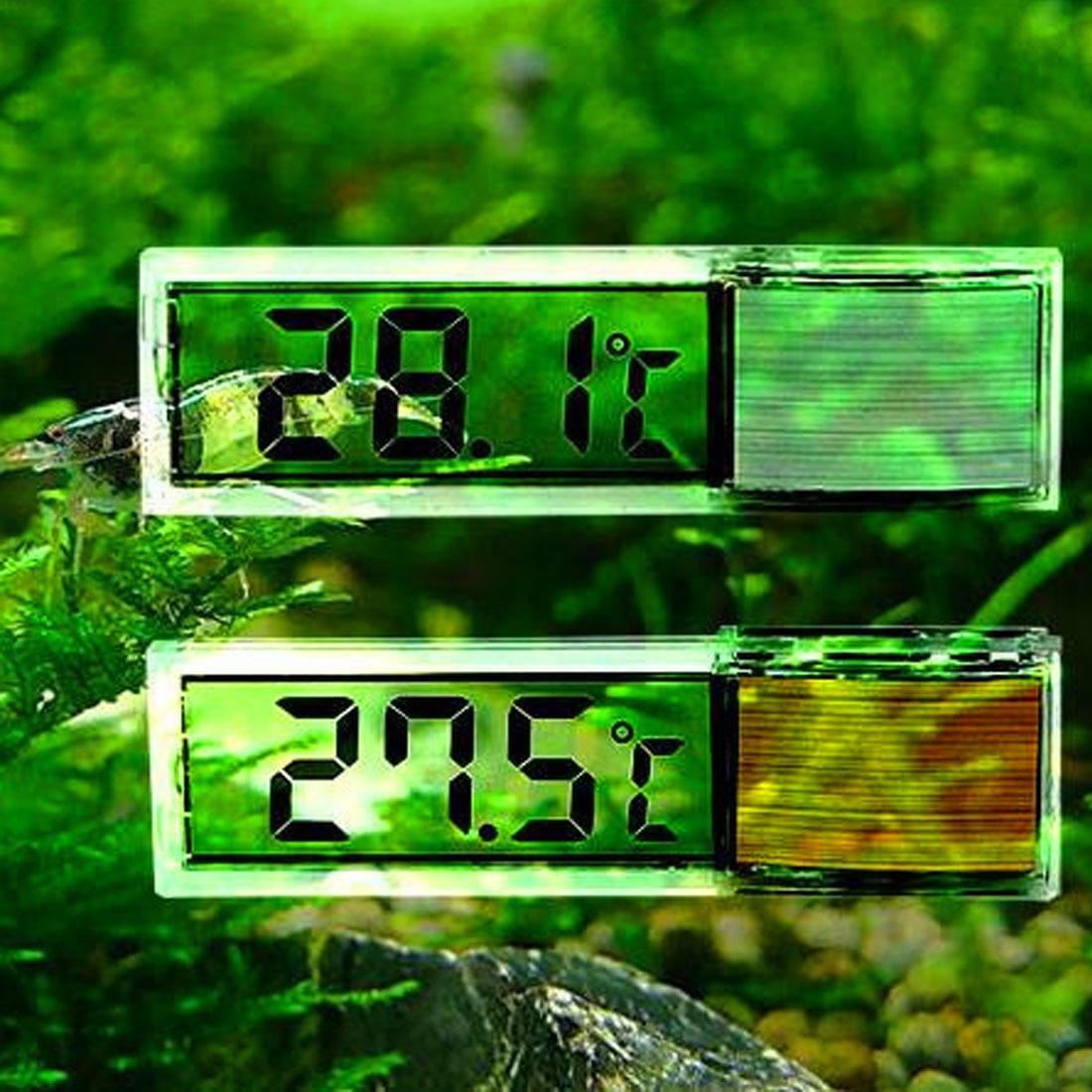 Multi-Functional LCD 3D Digital Electronic Temperature Measurement Fish Tank Temp Meter Aquarium Thermometer
