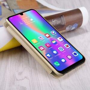 Image 3 - Sólo negro Huawei Honor 10 Lite 6,21 Original Nillkin Sparkle plástico cuero en Honor10 Lite Flip Cover Fundas de teléfono