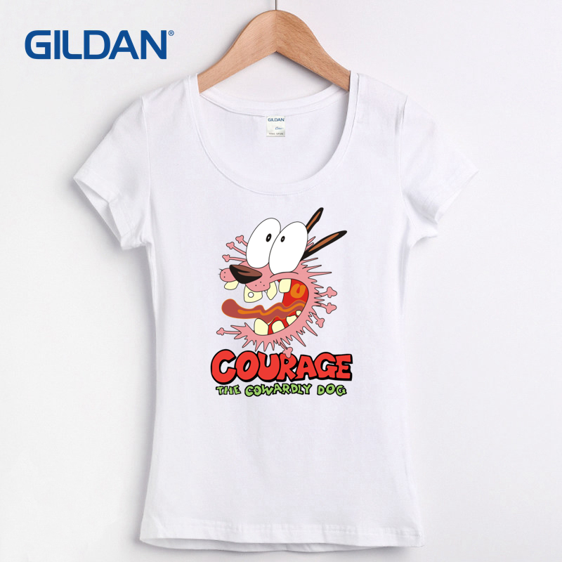 cartoons, television, tv shows, kids, power puff girls, spongebob, gumball, ed ed and eddie, classic cartoons, women, ladies, girls, courage the cowardly dog, t shirt, scoop neck, grey, pink, blue, scared, cartoon network, adult swim