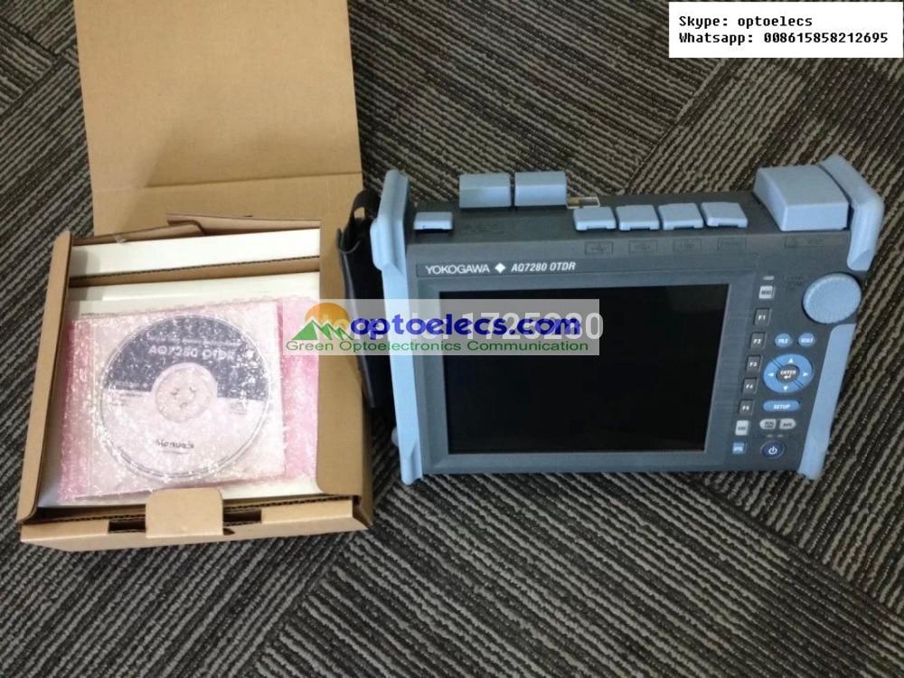 DHL Free Shipping Yokogawa AQ7280 AQ7282A SM OTDR 38 36dB 1310 1550nm