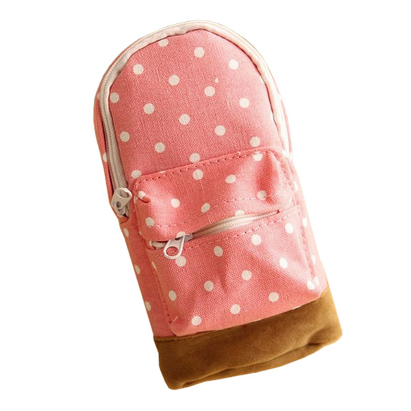 Cosmetic Makeup Pencil Case Storage Box Bag Wash Toiletry Pouch Travel Bag Purse Pink spark storage bag portable carrying case storage box for spark drone accessories can put remote control battery and other parts