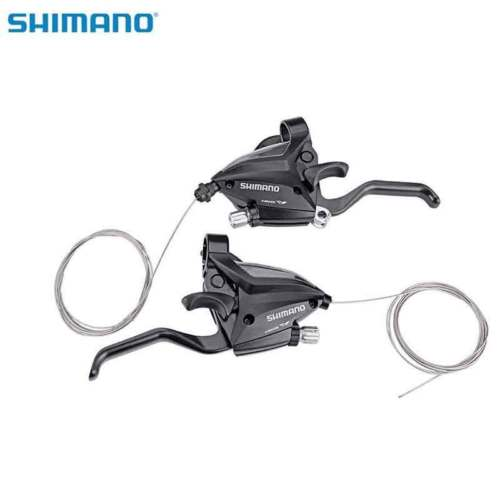 Shimano ST-EF500-7 3 x 7speed Shifter Brake Lever Set w/Cable upgraded EF51-7