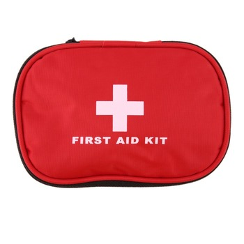 Outdoor Travel First Aid kit Mini Car First Aid kit bag Home Small Medical box Emergency Survival kit Size 15*10*5cm image