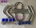 Алюминиевый турбо интеркулер Трубопроводный комплект/трубы/зажим/муфта/Универсальный 2 5