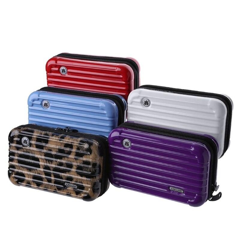 THINKTHENDO Makeup-Case Pouch Toiletry-Organizer Cosmetic-Bag Luggage-Design Travel Women