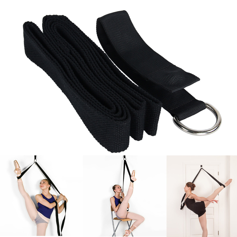 Yoga Ballet Stretch Strap Exercise Leg Stretching Strap For Physical Dance Gymnastics Fitness Workout