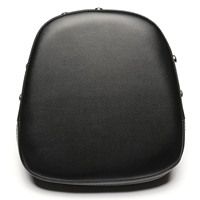 Neverland 8 66 Black Motorcycle Vinyl Leather Rivet Sissy Bar Backrest Cushion Passenger Seat Pad For