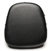 Neverland 8 66 Black Motorcycle Vinyl Leather Rivet Sissy Bar Backrest Cushion Passenger Seat Pad For