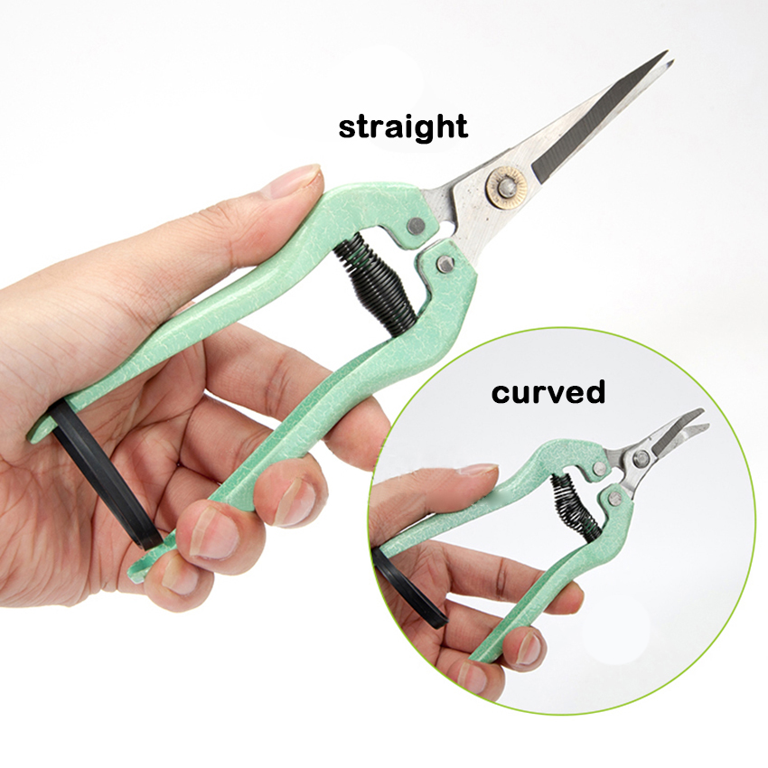 Plant Pruning Scissors Garden Fruit Trees Cutter Gardening Tools Grass Flower Shears Secator Grafting Pruner Hand Pruner Tool