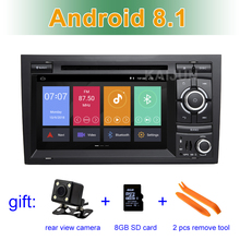 Android 8.1 Car DVD Multimedia Player for Audi A4 S4 RS4 2002 – 2007 with WiFi BT GPS Radio Stereo