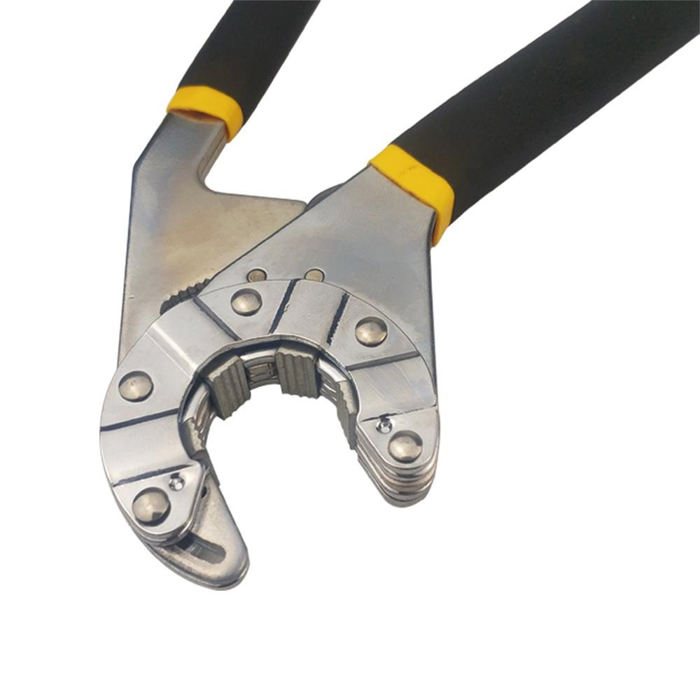 Eight Inch Open End Wrench Adjustable Wrench Hexagon Craftsman Pliers Wrench Tool Hand Universal Key Multi-Functional Twist