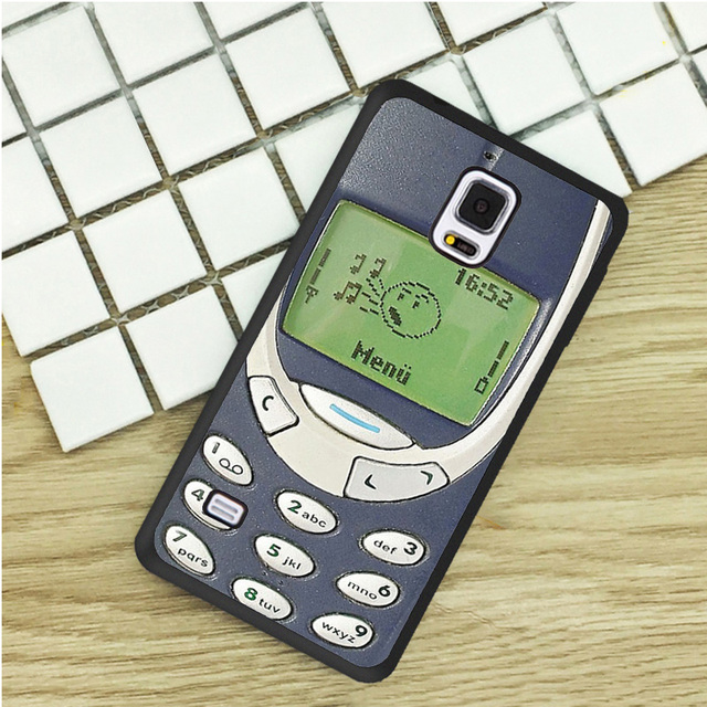 Old Mobile Prank Retro Printed TPU Phone Cases For Samsung