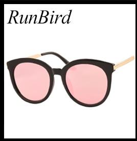 Espelho Plano Lente Olho de Gato Mulheres Óculos De Sol Clássico Marca  Designer Twin-Vigas Subiu Moldura de Ouro Óculos de Sol para As Mulheres  com Caixa ... cf07bc1bfb