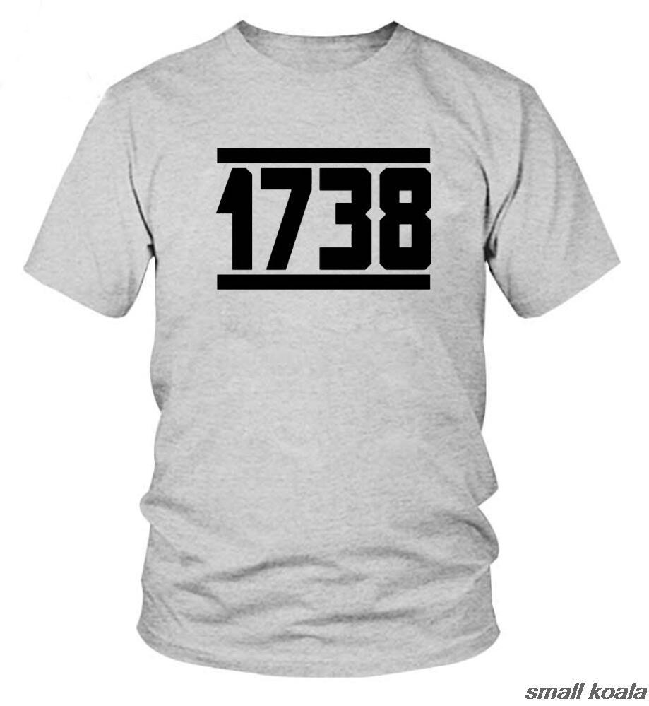 1738 Fetty Wap T Shirt Mens Remy Boyz Trap Queen Drake Drizzy Hip Hop Custom Cotton Short Slever T-Shirt Grey