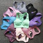 @1  9 цветов Женщины Бесшовные Фитнес Спортивный Бюстгальтер Бег Тренировки Йога Бюстгальтер Широкие бре ✔