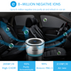 Onever Car Air Purifier 12V Negative Ions Air Cleaner Ionizer Air Freshener Auto Mist Maker Pm2 5 Eliminator Cup Car Charger flash sale