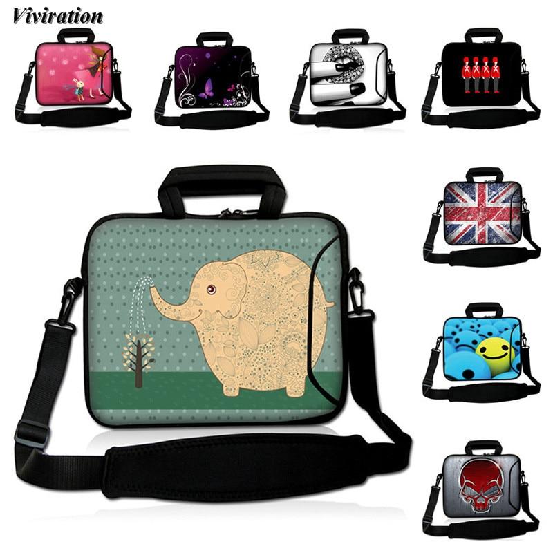 Viviration 17 Inch Laptop Bag Neoprene Business Handbag Computer Case 17.3 15 15.6 14 12 13 10 Inch Notebook Case for Lenovo Tab