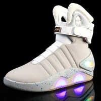 Fort USB charge Led enfants chaussures avec lumière enfants décontracté garçons et filles chaussures lumineuses brillant chaussure enfant taille 39-45