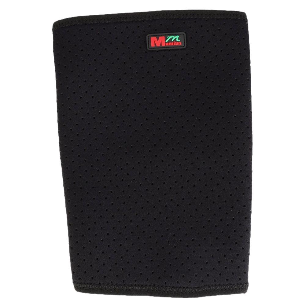 1 pcs Mumian Sport Leg Knee Patella Brace Wrap Protector Pad Sleeve Black