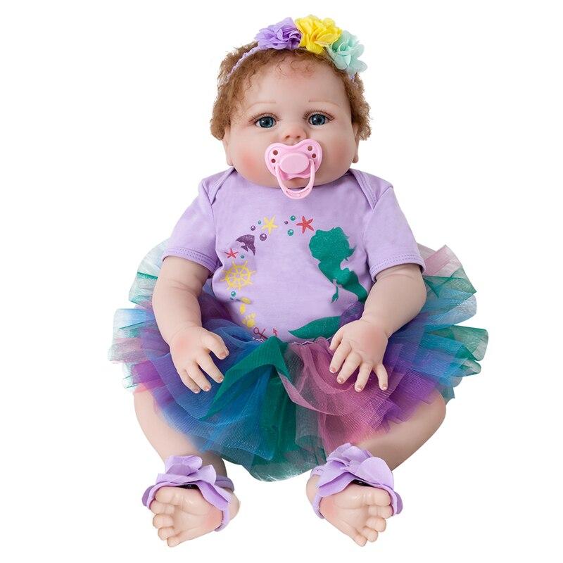 Bebes Reborn poupée Silicone souple Reborn bambin bébé poupées Silicone Surprice cadeaux haute qualité Lol poupée