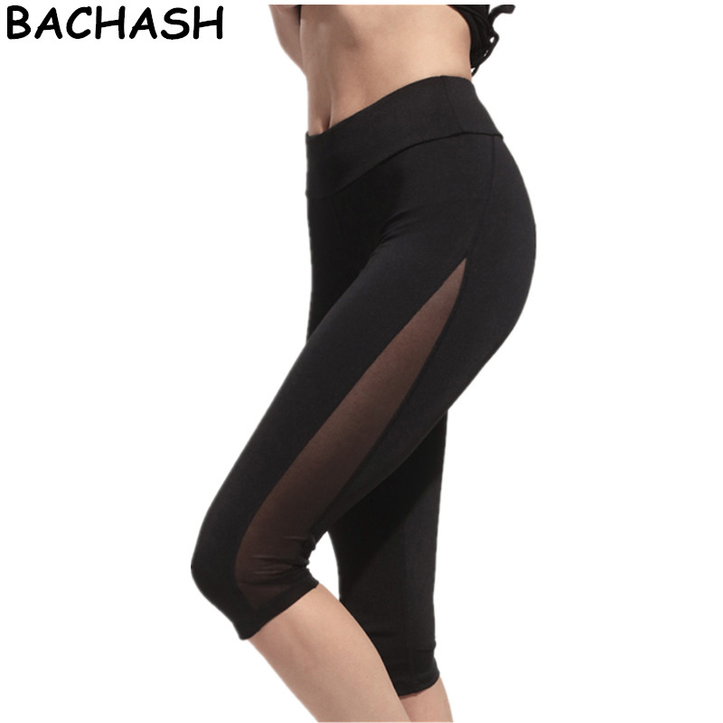 BACHASH Women Skinny Pants for Women Capris High Waist Sexy Pant Women Pantalones Soft Pants Women Thin Summer Calf-Length Pants