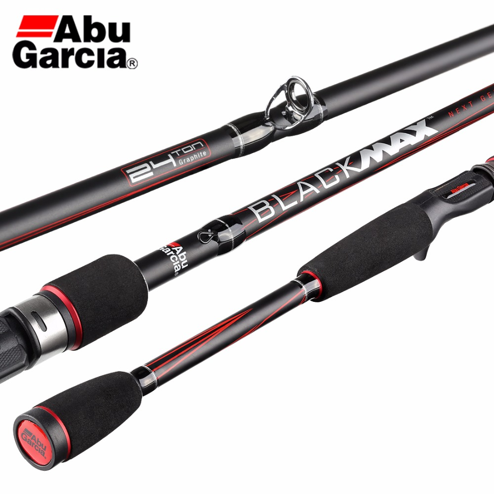 Abu Garcia Black Max BMAX Baitcasting Lure Fishing Rod 1.98m Carbon Spinning Fishing
