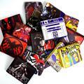 cartoon wallet, zombie, Variety Hunger Games movie, a short multi-card bit minimalist cartoon wallet men and women