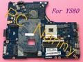 Para Lenovo Ideapad Y580 QIWY4 LA-8002P Intel placa-mãe Intel HM76 NVIDIA GeForce GTX 660 M testado