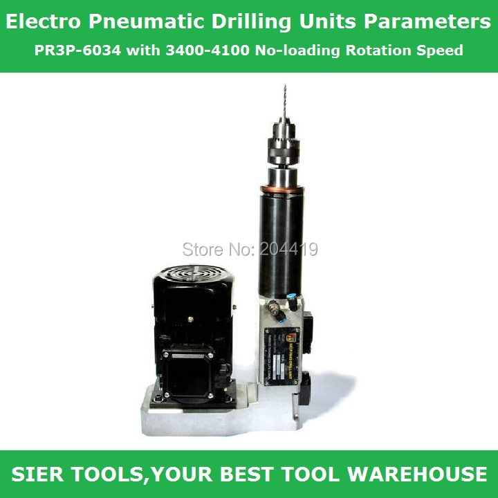AIR DRILL!/Electro Pneumatic Drilling Units Parameters/PR3P-6034 with 3400-4100 No-loading Rotation SpeedAIR DRILL!/Electro Pneumatic Drilling Units Parameters/PR3P-6034 with 3400-4100 No-loading Rotation Speed