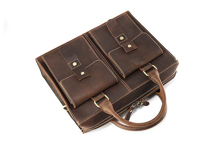genuine leather briefcase (7)