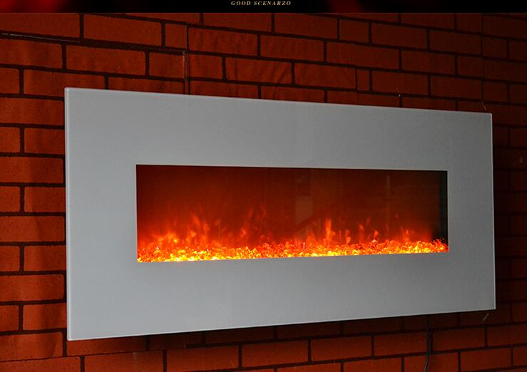 Kamin Modern Design free shipping to g 01 2 modern design led electric fireplace