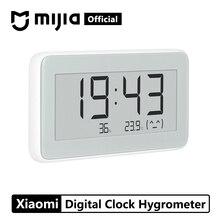 Xiaomi Mijia беспроводные смарт-электрические цифровые часы для помещений и улицы гигрометр термометр ЖК-дисплей запись температуры измерительные инструменты