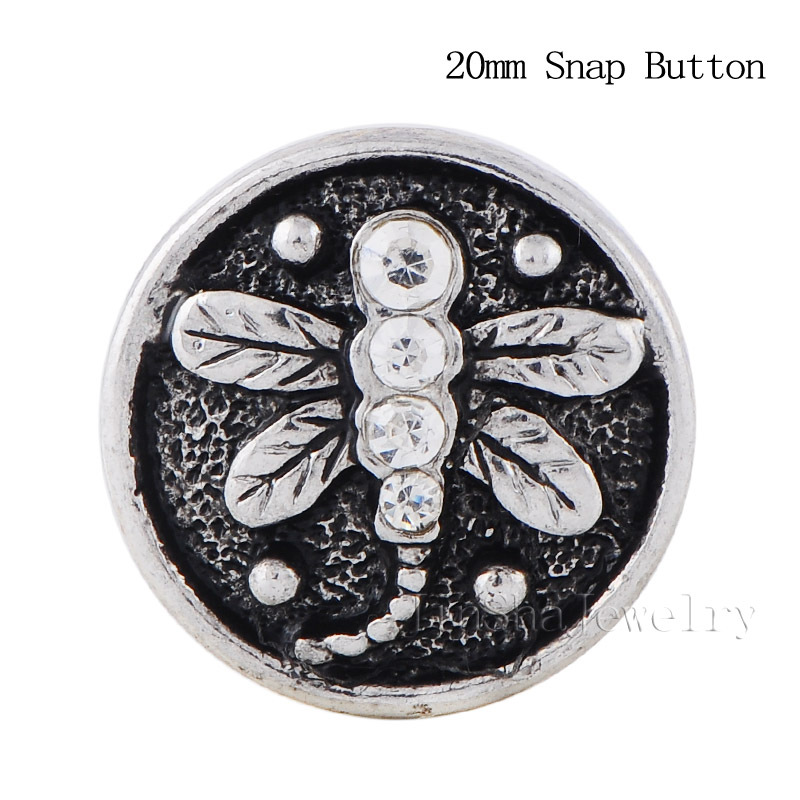 Free Shipping 30pcs lot Fashion Snap Button Bracelet Jewelry Fit 20mm Crystal Interchangeable Jinsha Button Jewelry